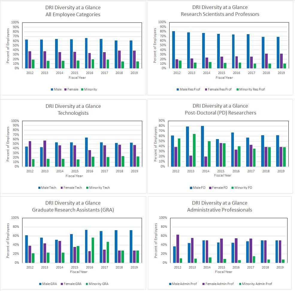 DRI Diversity Data 2019