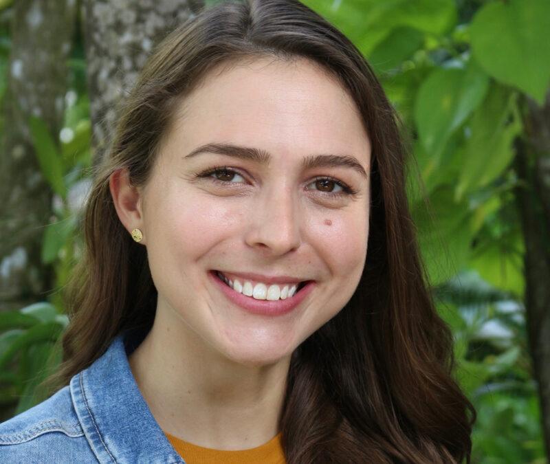 Anne Barkley, winner of the 2020 Wagner Award for Women in Atmospheric Science
