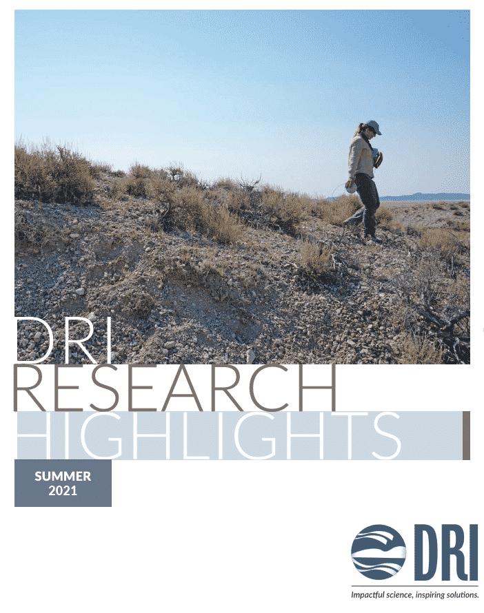 DRI Semi-Annual Report - Summer 2021 - follow link to view