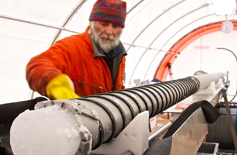 Drilling James Ross Island Ice Core