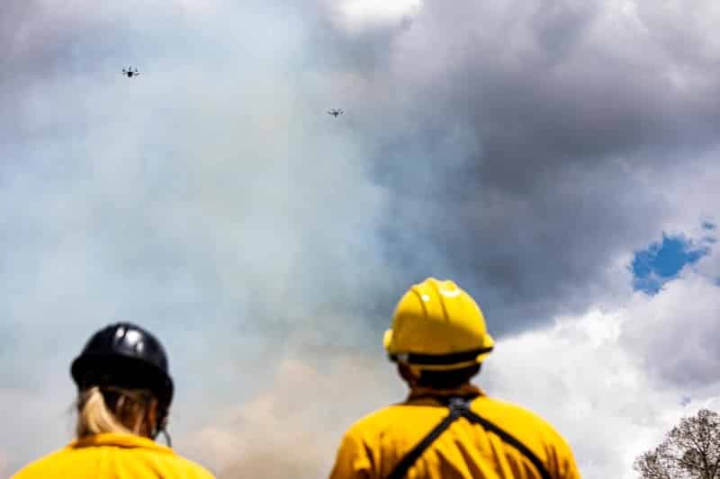 Into the Plume: Advancing Fire Science Using Drone Technology
