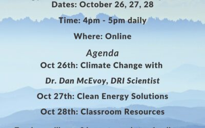 Fall 2020 EnergySmart Educator Workshop Series