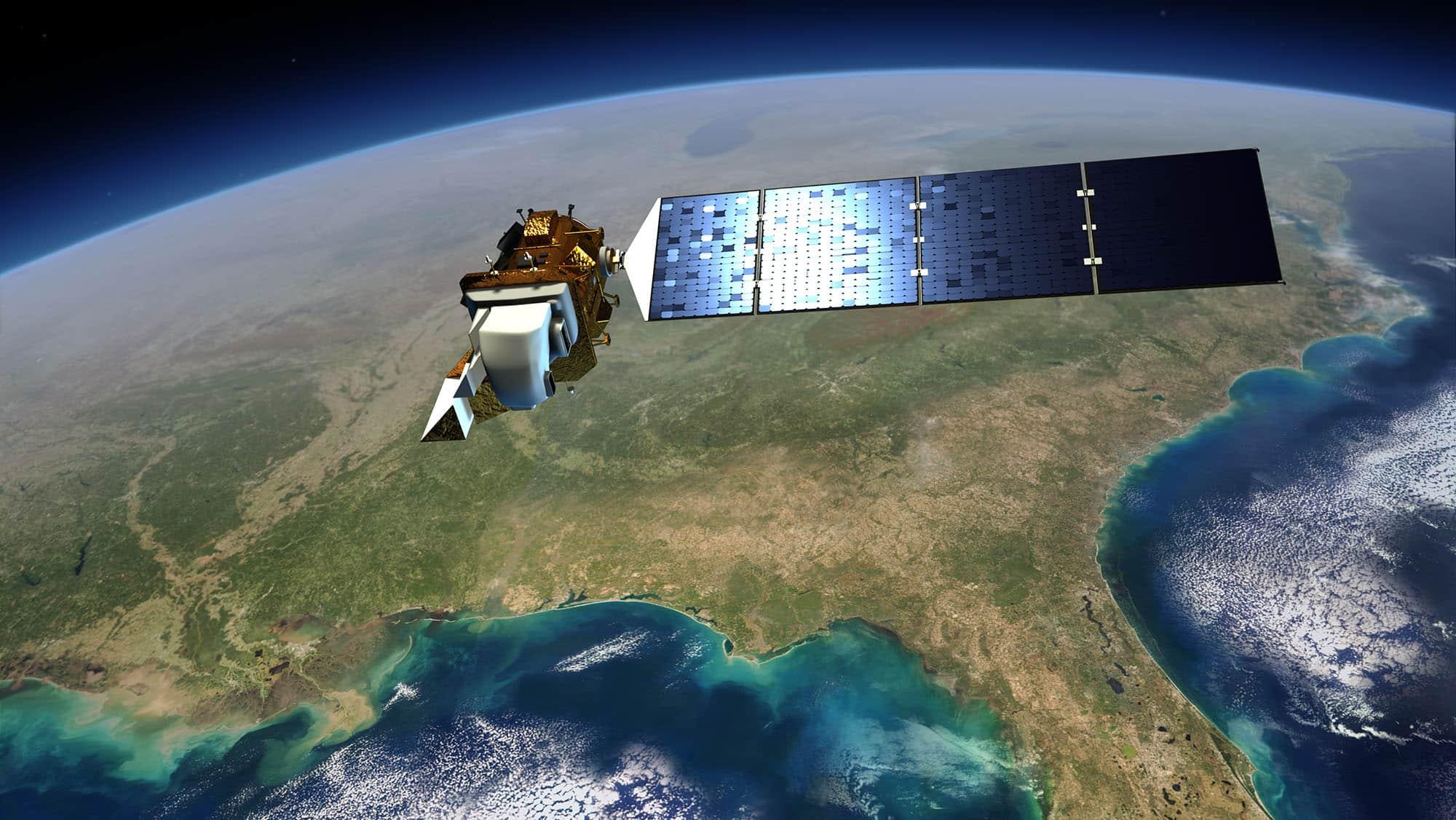 Landsat Satellite image