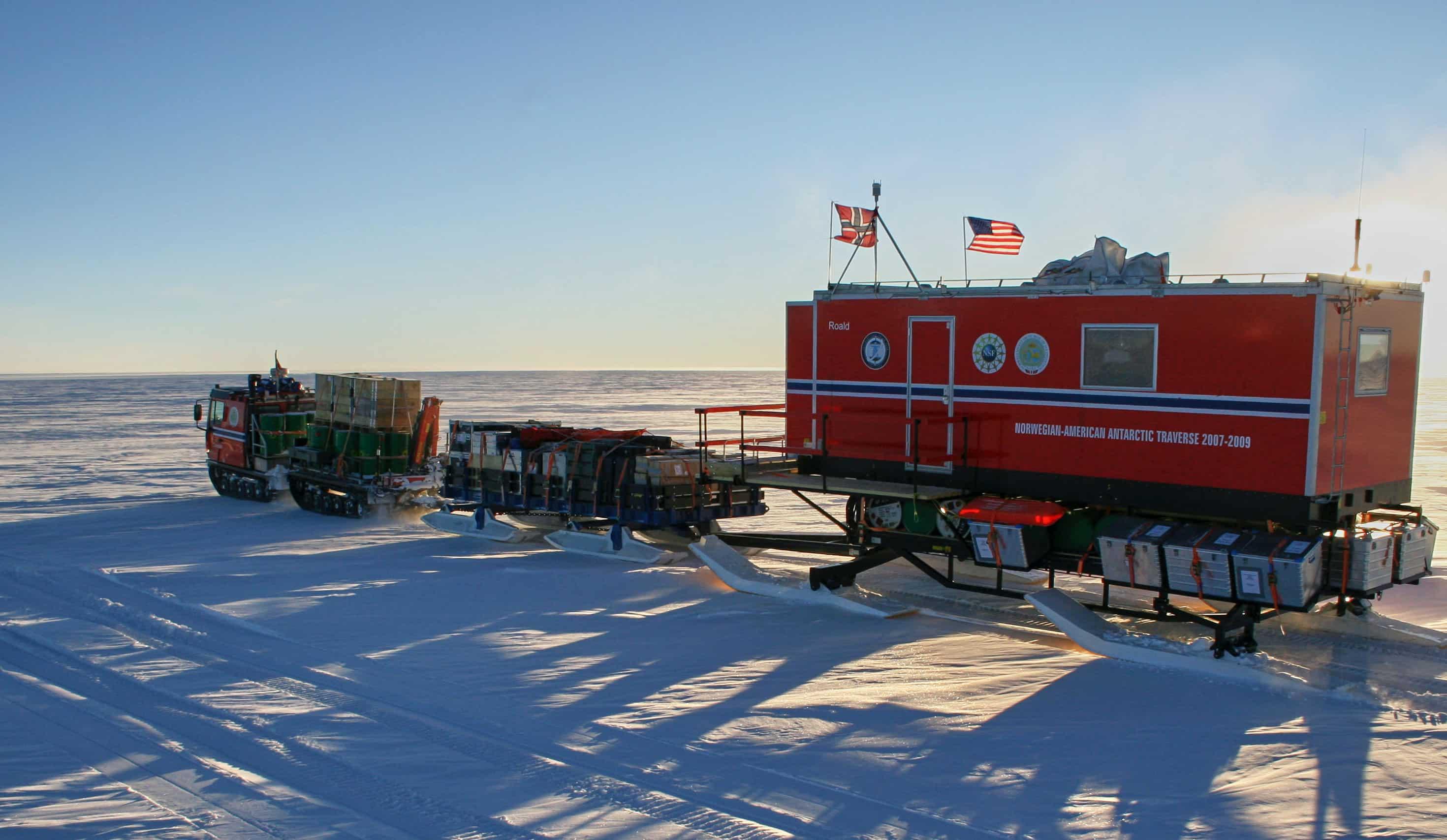Norwegian US East Antarctic Traverse
