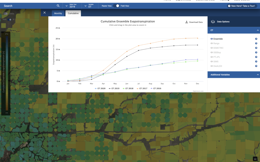 DRI, EDF, NASA, and Google Announce Web Application to Transform Water Management in the Western United States