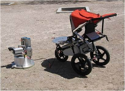 PI-SWERL device and its portable buggy