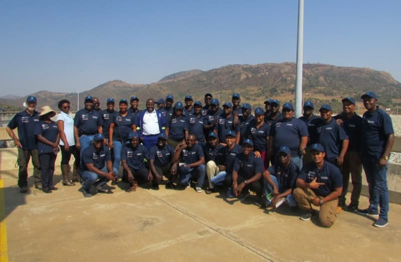 Photo of WASH Capacity Building Program students in Eswatini
