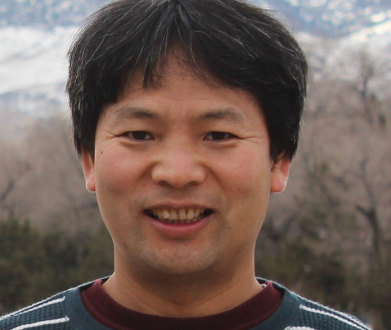 Xiaoliang Wang, Research Professor with DRI's Division of Atmospheric Science