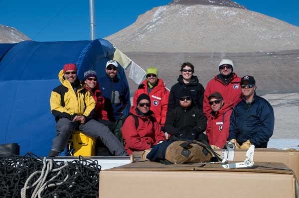 Lake Vida field team 2010